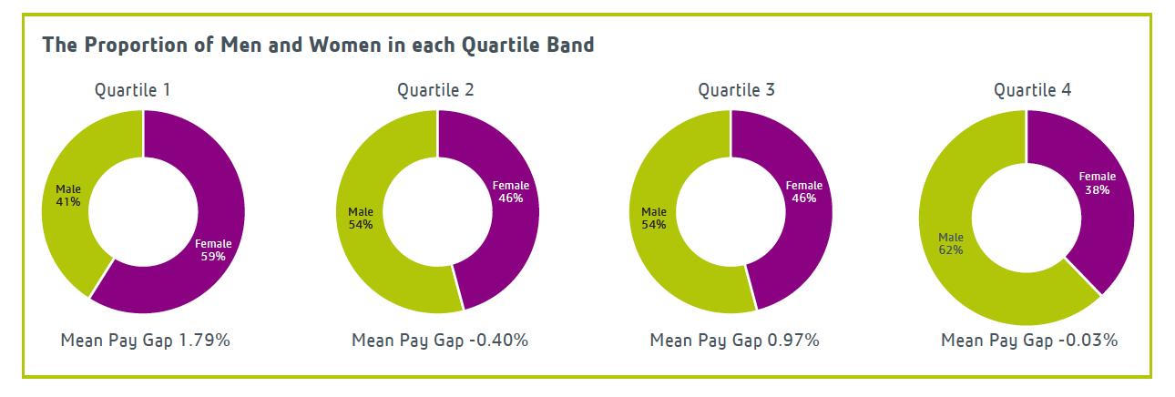 Gender Pay Gap 2017 - women