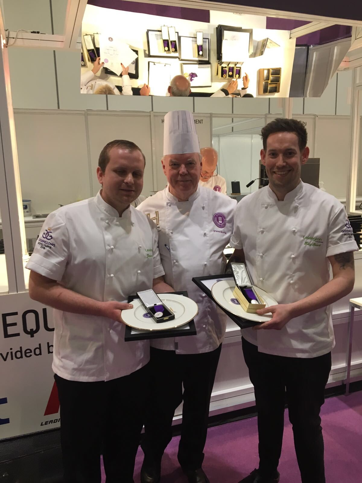 Tony and James - Lexington - Hotelympia 2018